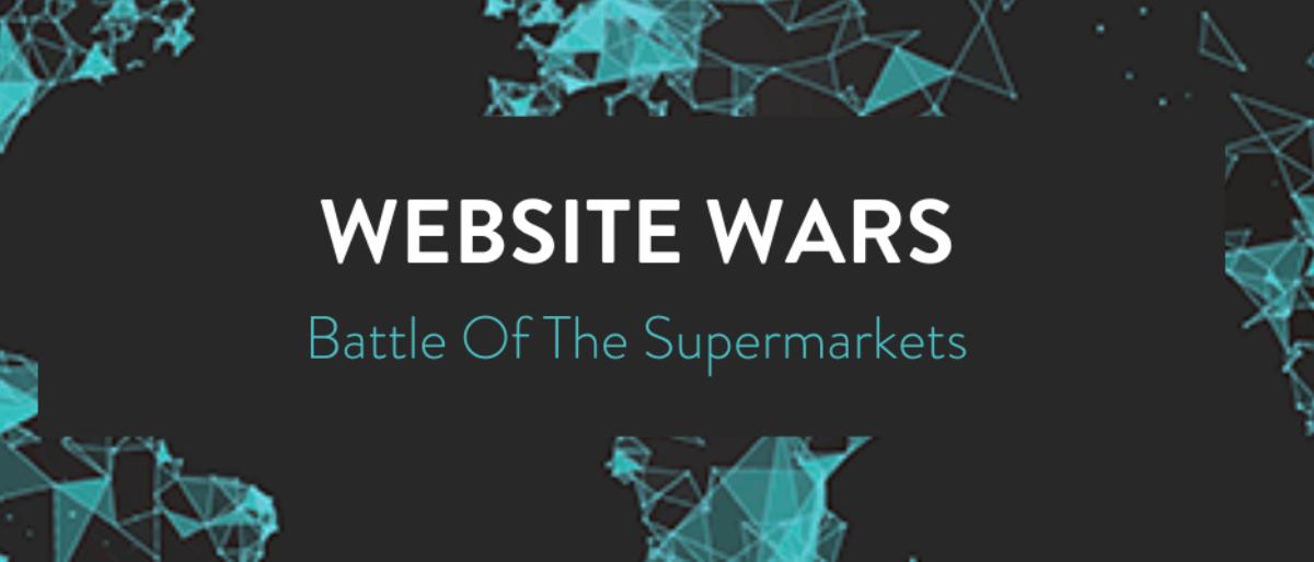Website wars: battle of the supermarkets