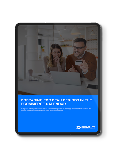Prepare For Peak Periods In The Ecommerce Year Front Cover