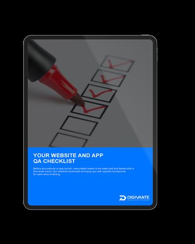 Website and App Checklist