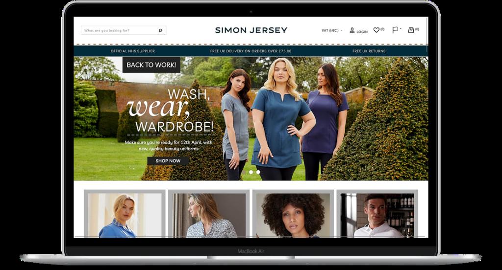 Simon Jersey Website