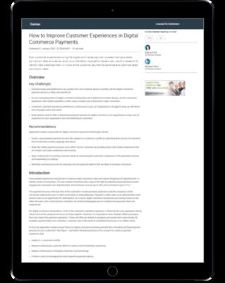 Gartner report on iPad